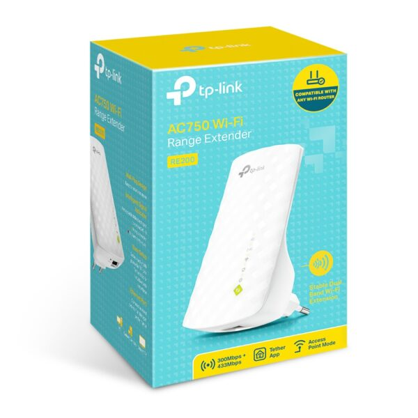 Extensor de Rango Wi-Fi AC750
