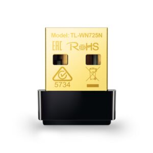 Placa de Red Inalámbrico TP-Link TL-WN725N 150Mbps Wireless N Nano USB Adapter