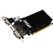 DALECLICK Placa Video Msi Geforce Gt 710 1gd3h Lp Low Profile 1gb Ddr3