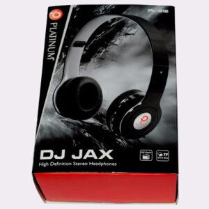 AURICULAR PLATINUM PL-212 DJ JAX VARIOS COLORES PLEGABLE STEREO RADIO FM / LEE MICRO SD / BATERIA INCLUIDA / CABLE Y CARGADOR