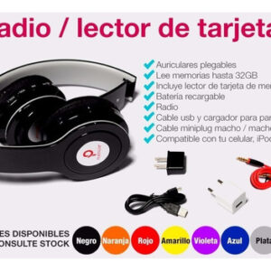DJ JAX PL-212 – Radio y Lector SD