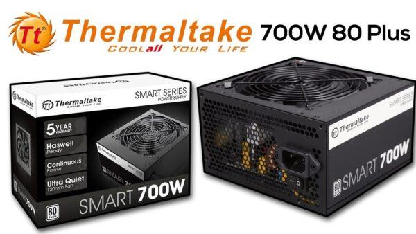 Fuente Thermaltake Smart 700W white 80 Plus