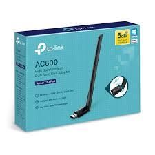 Adaptador USB Inalámbrico de Alta Ganancia Doble Banda AC600