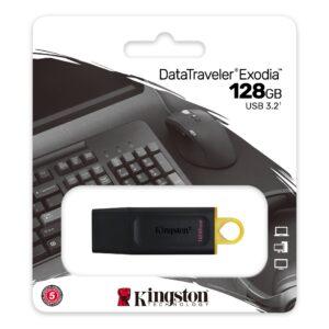 Amazon.com Kingston DataTraveler Exodia 128GB USB 3.2 Flash Drive DTX/128GB