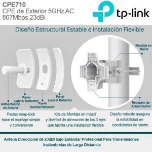 Antena Tp Link Pharos Cpe710 Exterior