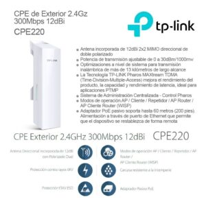 Antena Access  Tp Link Cpe220