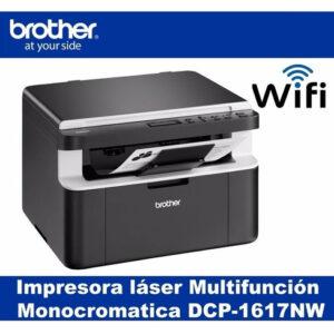 Impresora Multifunción Laser Brother Dcp-1617nw