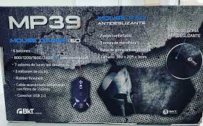 COMBO MOUSE + PAD GAMER 6D RETROILUMINADO BKTM39