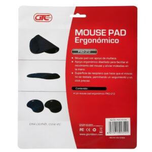 Pad Mouse Gtc Original Con Apoya Muñeca Ergonomico